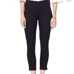 NYDJ NWT Alina Pull On Ankle Black Denim Pants 6